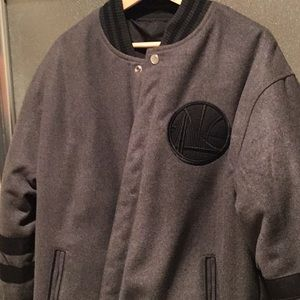 Golden state warriors reversible jacket